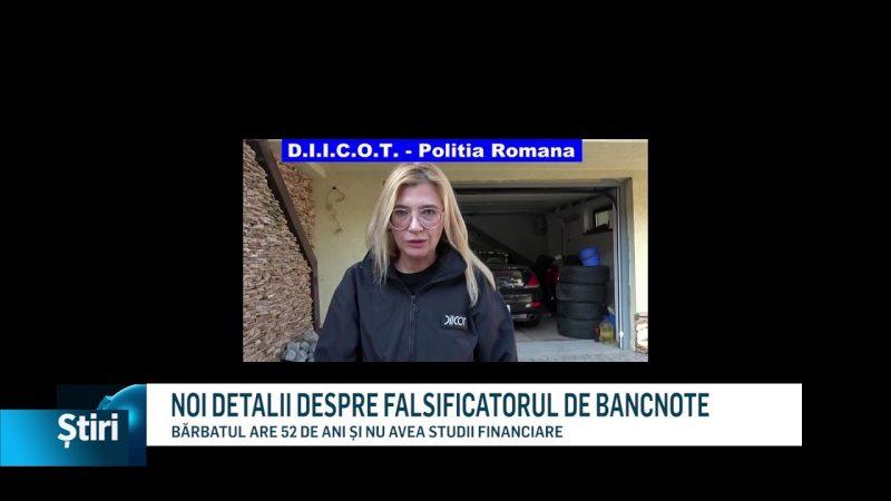 NOI DETALII DESPRE FALSIFICATORUL DE BANCNOTE
