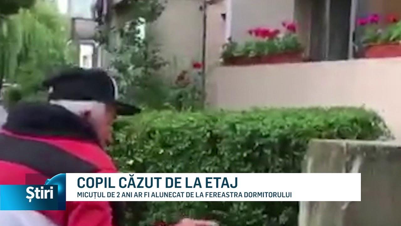 COPIL CĂZUT DE LA ETAJ