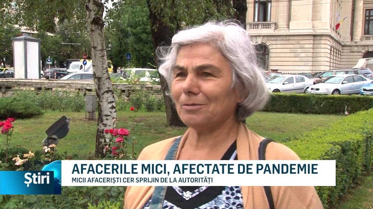 AFACERILE MICI, AFECTATE DE PANDEMIE
