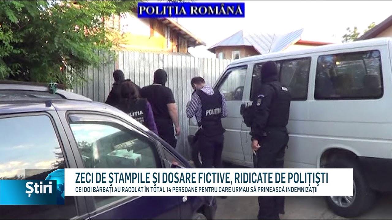 ZECI DE ŞTAMPILE ŞI DOSARE FICTIVE, RIDICATE DE POLIŢIŞTI