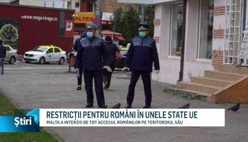 RESTRICȚII PENTRU ROMÂNI ÎN UNELE STATE UE