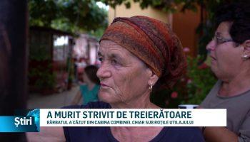 A MURIT STRIVIT DE TREIERĂTOARE