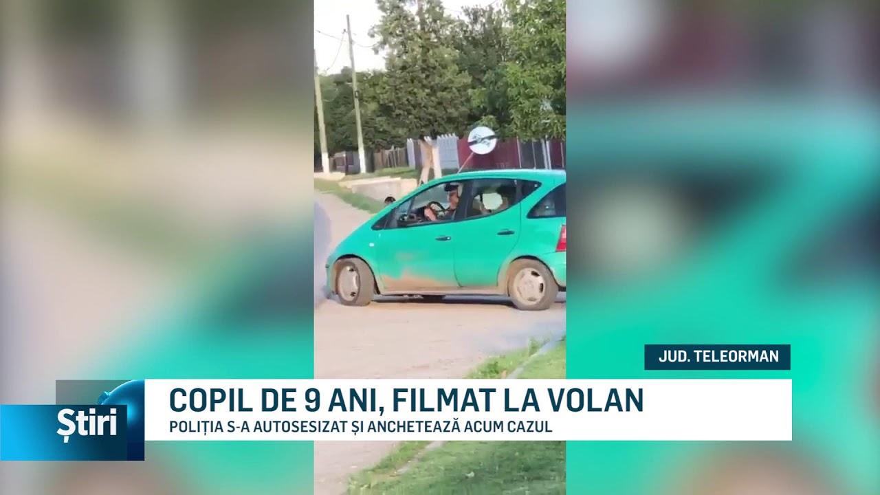 COPIL DE 9 ANI, FILMAT LA VOLAN