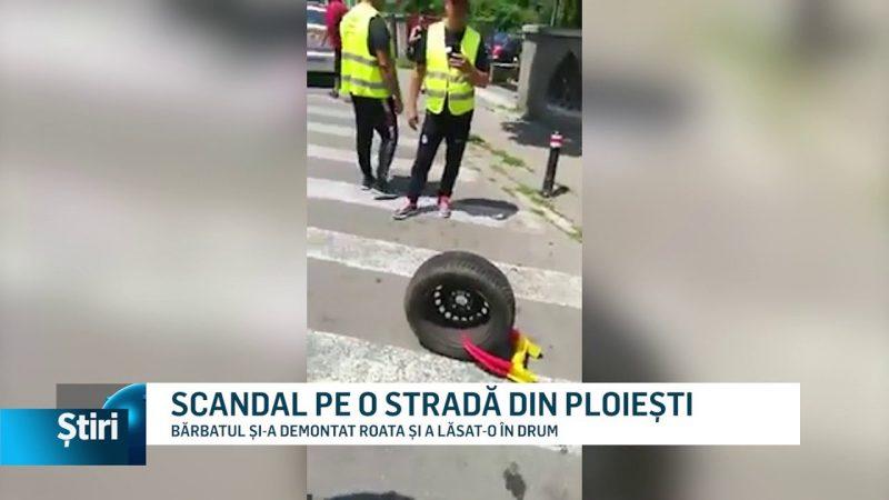 SCANDAL PE O STRADĂ DIN PLOIEȘTI