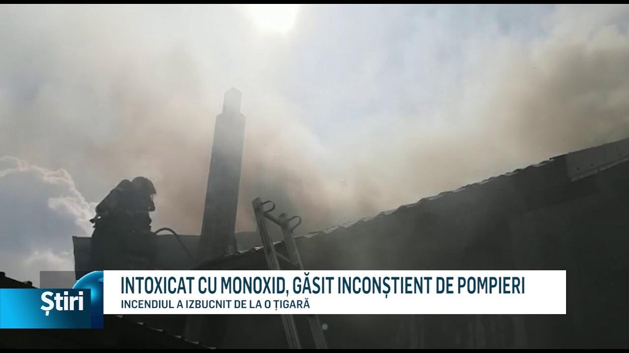 INTOXICAT CU MONOXID, GĂSIT INCONȘTIENT DE POMPIERI