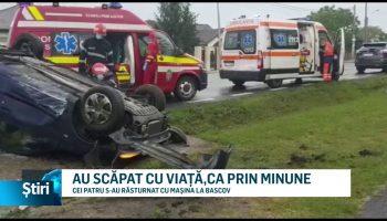 AU SCĂPAT CU VIAȚĂ,CA PRIN MINUNE