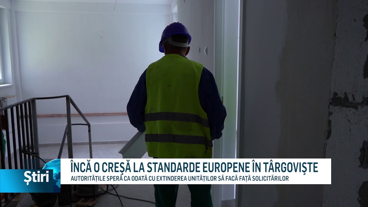 ÎNCĂ O CREŞĂ LA STANDARDE EUROPENE ÎN TÂRGOVIŞTE