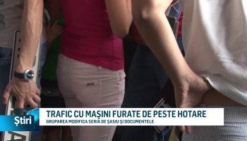 TRAFIC CU MAŞINI FURATE DE PESTE HOTARE