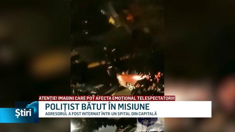 POLIȚIST BĂTUT ÎN MISIUNE