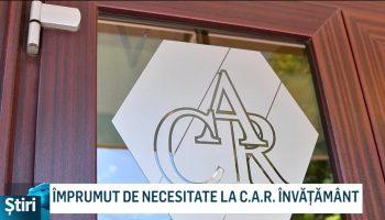 ÎMPRUMUT DE NECESITATE LA C.A.R. ÎNVĂȚĂMÂNT