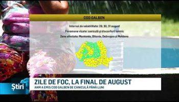 ZILE DE FOC, LA FINAL DE AUGUST