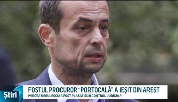 """FOSTUL PROCUROR """"PORTOCALĂ"""" A IEŞIT DIN AREST"""