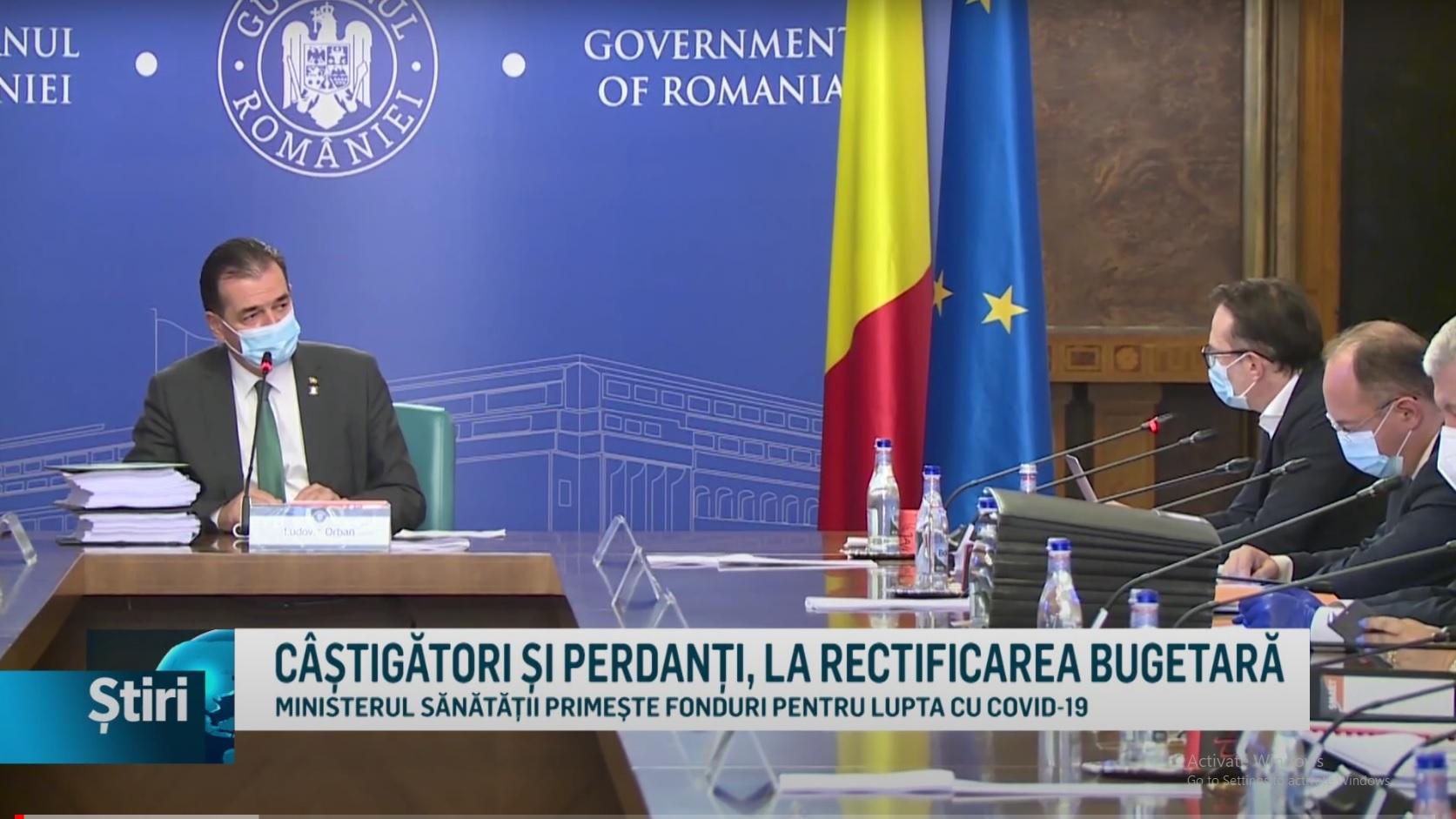 CÂȘTIGĂTORI ȘI PERDANȚI, LA RECTIFICAREA BUGETARĂ