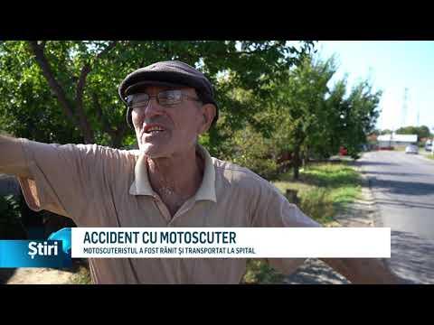 ACCIDENT CU MOTOSCUTER