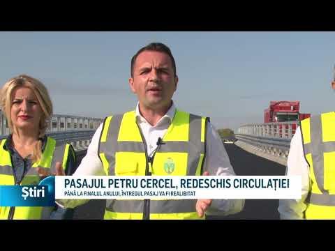 PASAJUL PETRU CERCEL, REDESCHIS CIRCULAȚIEI