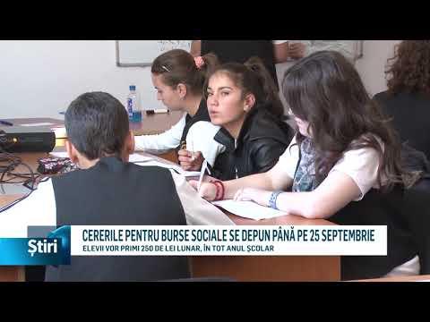 CERERILE PENTRU BURSE SOCIALE SE DEPUN PÂNĂ PE 25 SEPTEMBRIE