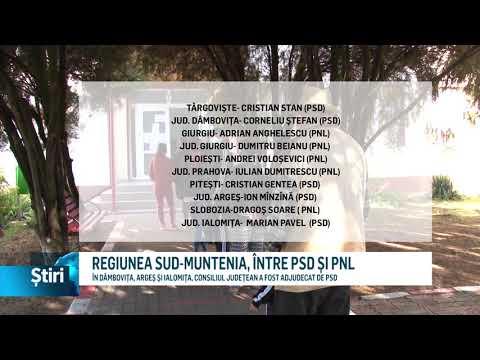 REGIUNEA SUD-MUNTENIA, ÎNTRE PSD ȘI PNL