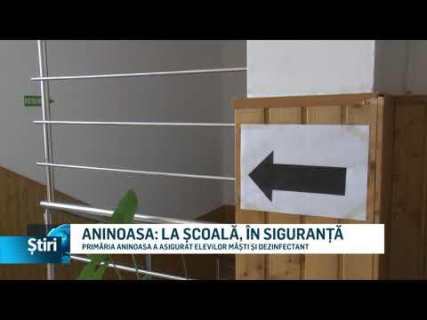 ANINOASA: LA ȘCOALĂ, ÎN SIGURANȚĂ